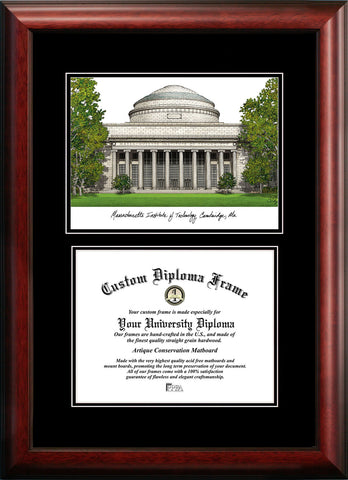 Massachusetts Institute of Technology 11.75w x 9.25h Diplomate Diploma Frame