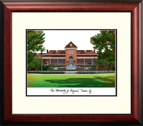 University of Arizona Alumnus Framed Lithograph