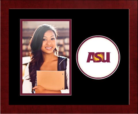 Arizona State University Sun Devils Spirit Photo Frame (Vertical)