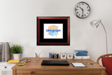 Grand Valley State University Academic Framed Lithograph