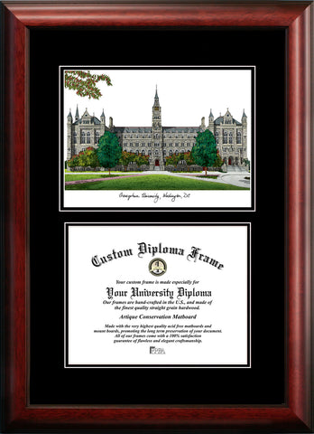Georgetown University 17w x 14h Diplomate Diploma Frame