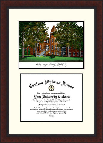 Northern Arizona University 11w x 8.5h Legacy Scholar Diploma Frame