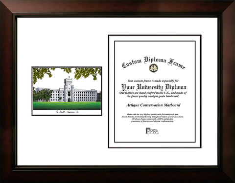 The Citadel 16w x 20h Legacy Scholar Diploma Frame