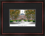 Miami University Ohio Academic Framed Lithograph