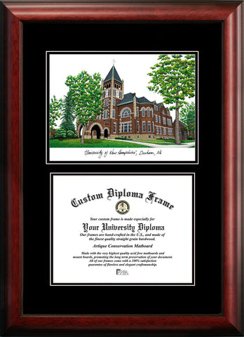 University of New Hampshire 10w x 8h  Diplomate Diploma Frame