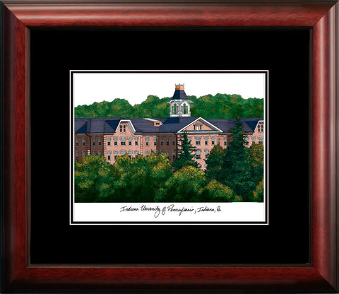 Indiana University, PA  Academic Framed Lithograph