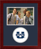 Utah State Aggies Spirit Photo Frame (Horizontal)