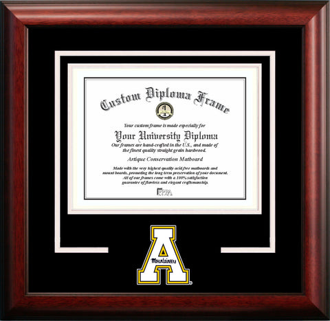 Appalachian State Mountaineers 11w x 8.5h Spirit Diploma Frame