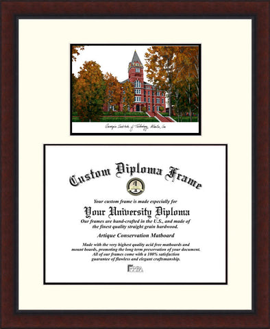 Georgia Institute of Technology 17w x 14h Legacy Scholar Diploma Frame