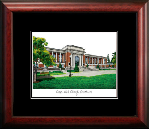 Oregon State University Academic Framed Lithograph