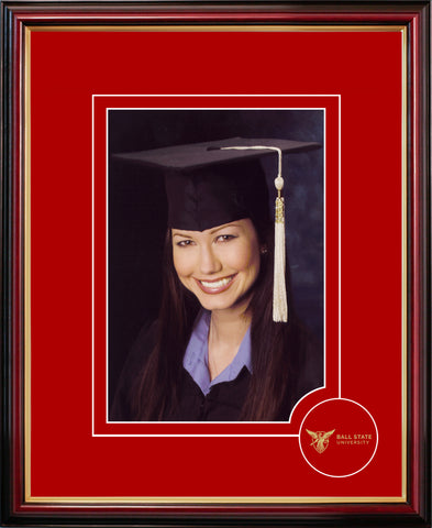 Ball State University 5X7 Graduate Portrait Frame