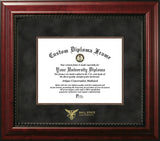 Ball State University 10w x 8h  Executive Diploma Frame