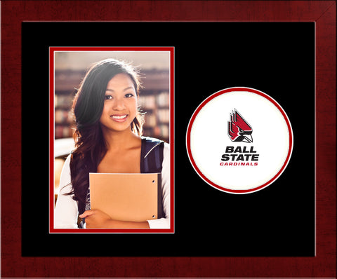 Ball State Cardinals Spirit Photo Frame (Vertical)