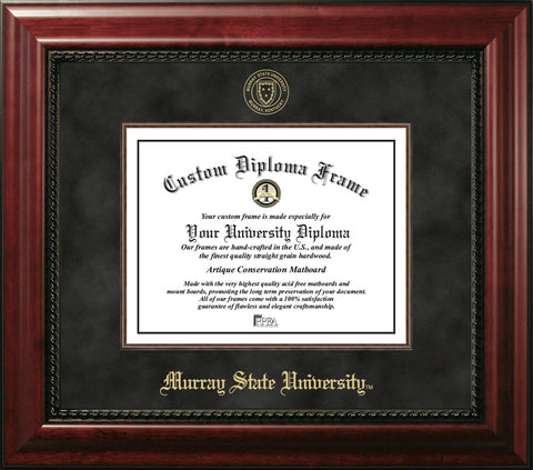 Murray State University 14w x 11h  Executive Diploma Frame