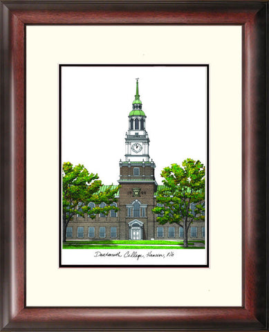 Dartmouth College Alumnus Framed Lithograph