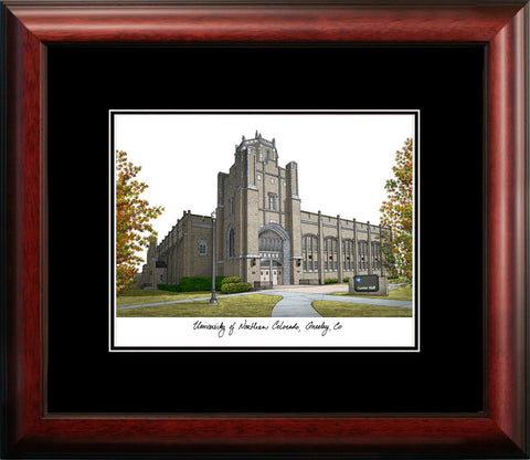 University of Northern Colorado Academic Framed Lithograph
