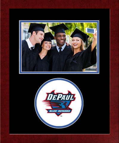 DePaul Blue Demons Spirit Photo Frame (Horizontal)