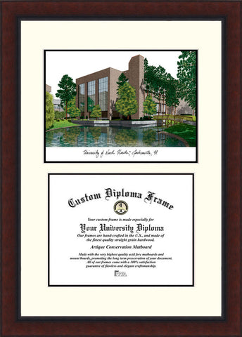 University of North Florida Legacy 11w x 8.5h Scholar Diploma Frame