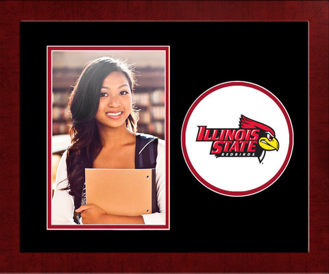 Illinois State 11w x 8.5h Spirit Photo Frame (Vertical)