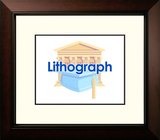 University of Houston Legacy Alumnus Framed Lithogrpah