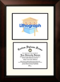 Louisiana Tech University 11w x 8.5h Legacy Scholar Diploma Frame