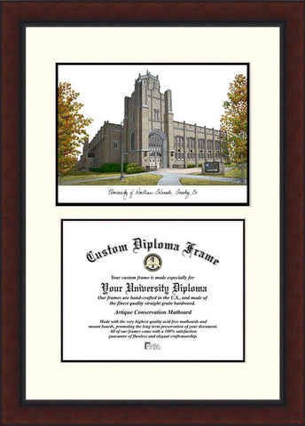 University of Northern Colorado 10w x 8h Legacy Scholar Diploma Frame
