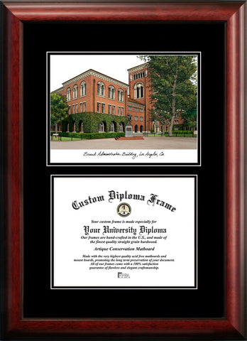 University of Southern California 11w x 8.5h Diplomate Diploma Frame