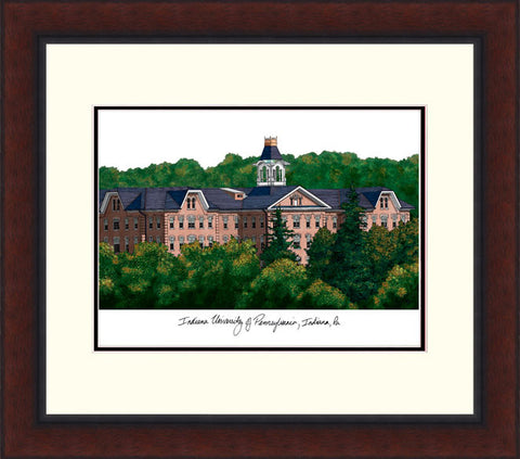 Indiana Univ, PA Legacy Alumnus Framed Lithograph