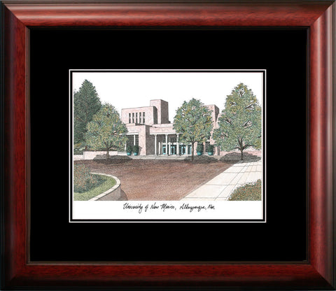University of New Mexico Academic Framed Lithograph
