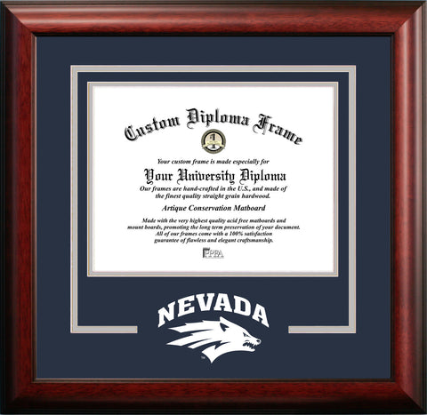 University of Nevada , Reno Wolf Pack 11w x 8.5h Spirit Diploma Frame