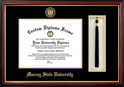 Murray State University 14w x 11h  Tassel Box and Diploma Frame