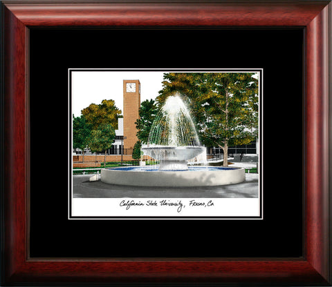 Cal State Fresno Academic Framed Lithograph
