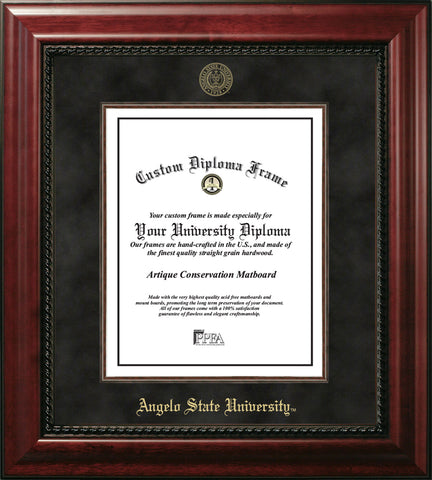 Angelo State University  Executive Diploma Frame