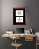 Appalachian State University  11w x 8.5h Diplomate Diploma Frame