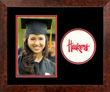 University of Nebraska Cornhuskers Spirit Photo Frame (Vertical)
