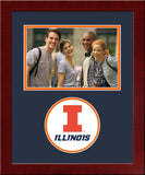 University of Illinois, Urbana-Champaign Spirit Photo Frame (Horizontal)