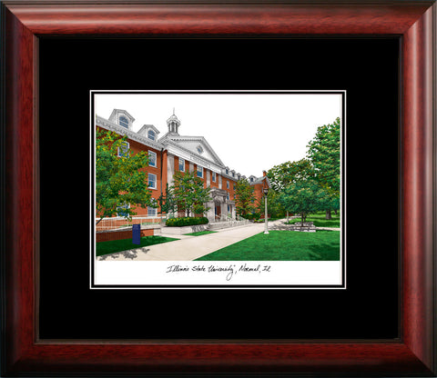 Illinois State Academic Framed Lithograph