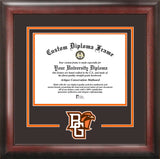 Bowling Green State University  Falcons Spirit Diploma Frame