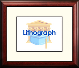 Cal State Long Beach Alumnus Framed Lithogrpah