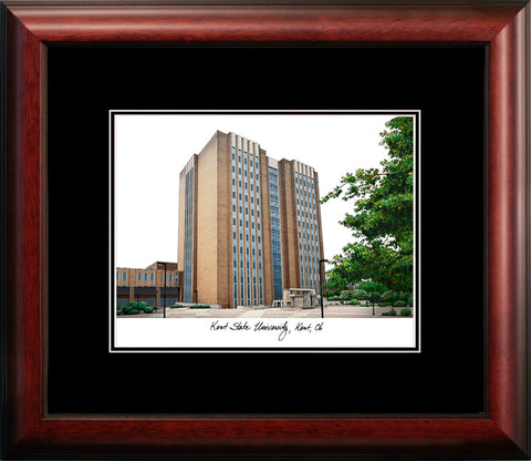 Kent State University Academic Framed Lithograph