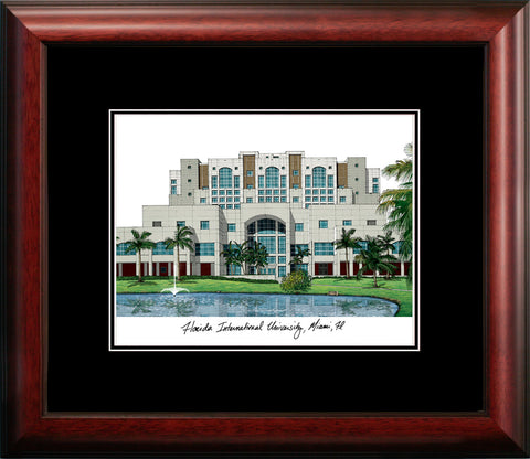 Florida International University Academic Framed Lithograph
