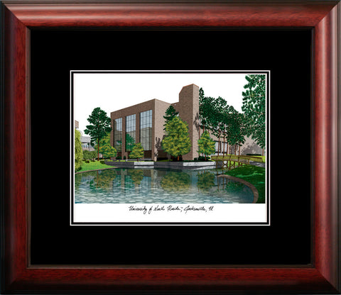 University of North Florida Academic Framed Lithograph