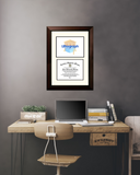 University of North Florida 11w x 8.5h Scholar Diploma Frame