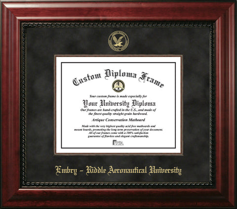 Embry-Riddle University 11w X 8.5h Executive Diploma Frame