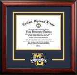 Marquette Golden Eagles 12w x 9h Spirit Diploma Frame