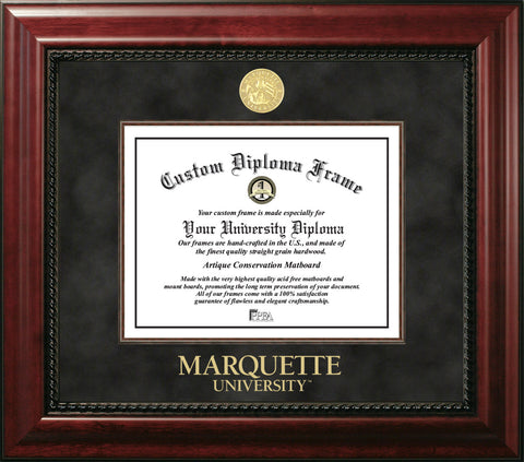 Marquette University 12w x 9h  Executive Diploma Frame