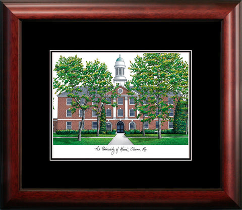 University of Maine Academic Framed Lithograph
