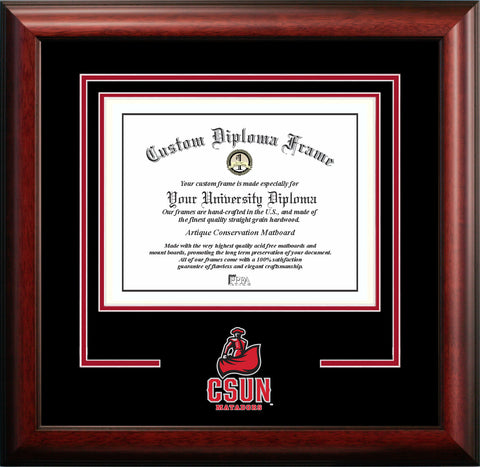 California State University, Northridge 11w x 8.5h Spirit Diploma Frame
