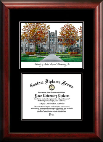 University of Central Missouri Diplomate 11w x 8.5h Diploma Frame