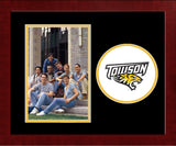 Towson Tigers Spirit Photo Frame (Vertical)